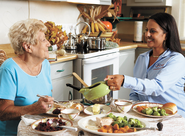 Giving Back Nourishing Senior Life