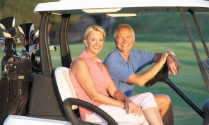 Don't let a Hearing Loss  Get in the Way of  Your Golf Game