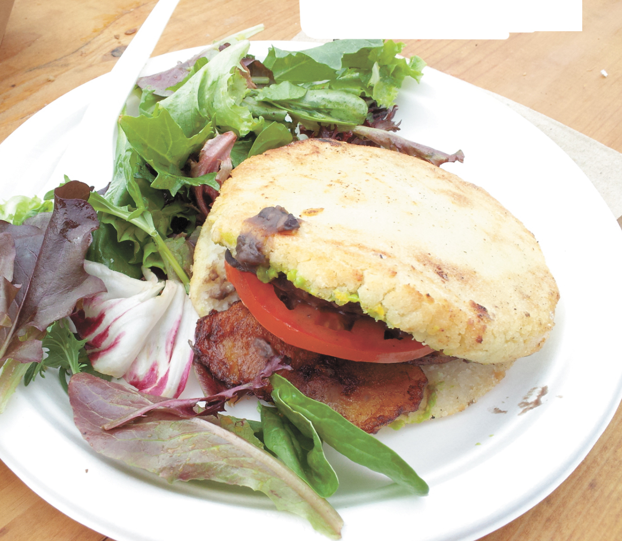 Healthy Vegan Arepas
