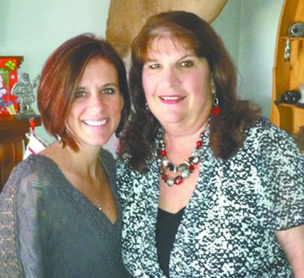 Jessica with mother Deborah Clark